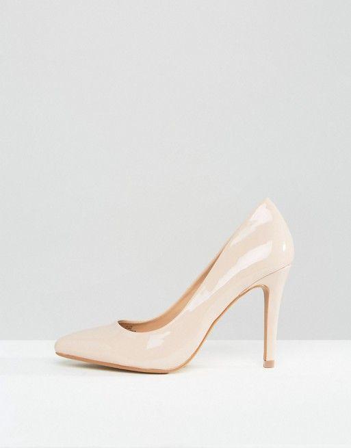 Head Over Heels By Dune – Alice Lackpumps in Nude (50,99 €)