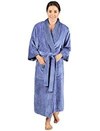 Texere Women's Terry Cloth Bathrobe - Classic Luxury Comfy Robes for Ladies ** You can find more details by visiting the image link.