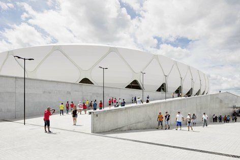Arena da Amazônia, Manaus, 2014 - gmp Architekten