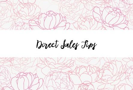 This pin links to a board full of great Direct Sales Tips and ideas to help you with your direct sales business. Click to check it out!