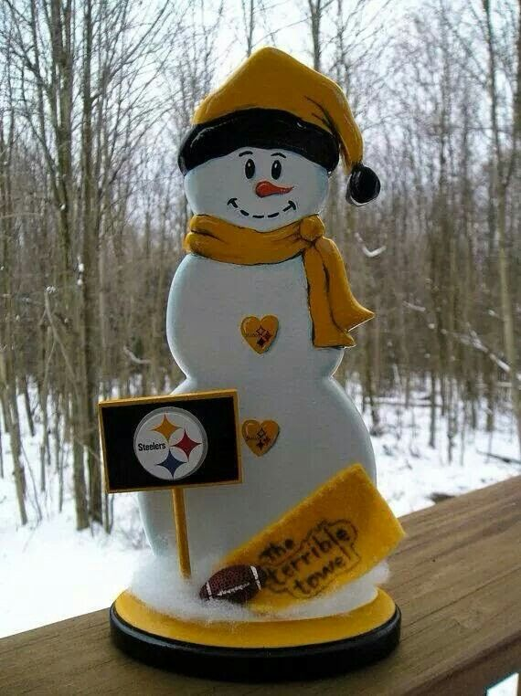 nfl craft ideas my of snowman steelers everything 2555