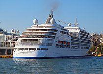 Το Silver Spirit πλευρισμένο στον Πειραιά. 19/06/2013.