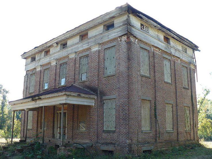 Elm Bluff Plantation - John Jay Crocheron House, in rural Dallas County, Alabama