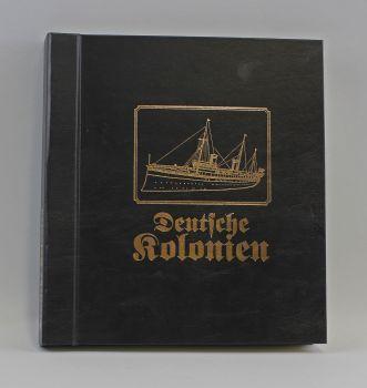 Album Deutsche Kolonien Inhalt: Briefmarken, Postkarten, Briefbelege, Ansichtskarten der Deutschen K