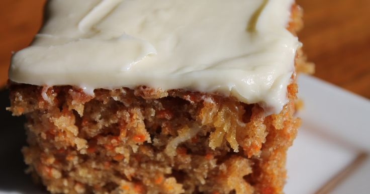 I have been searching for the perfect carrot cake recipe and got this one from a friend.It is delicious, notdry and not soggy...and the...
