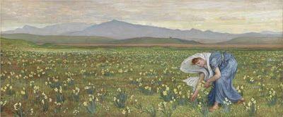 Άννα Αγγελοπούλου: Μαργαρίτες στη ζωγραφική και τα Τρία δάκρυα του Θεού του Μίλτου Σαχτούρη