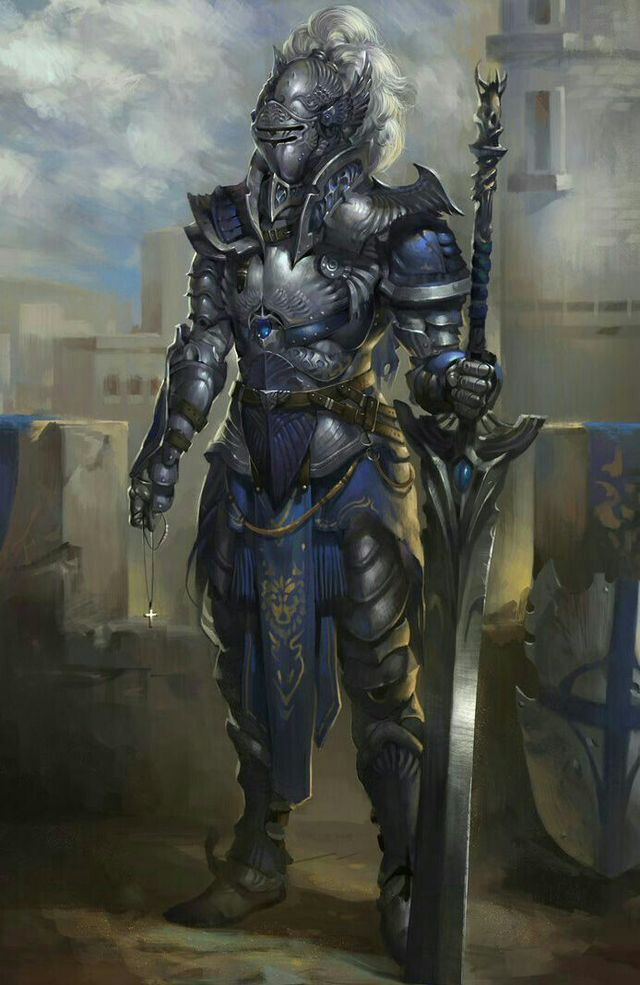 1360 best Fantasy Paladins & Knights images on Pinterest ...