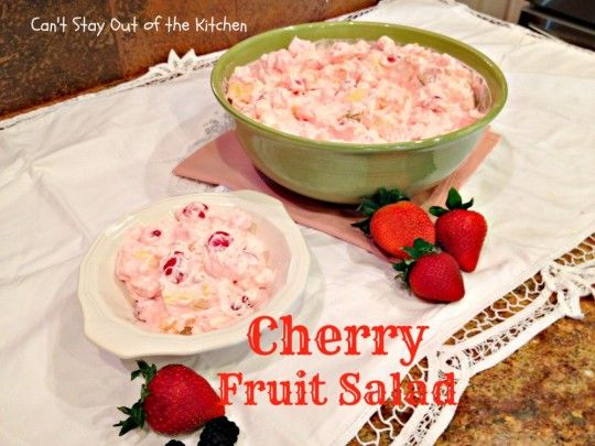 Cherry Fruit Salad - Recipe Pix 10 067
