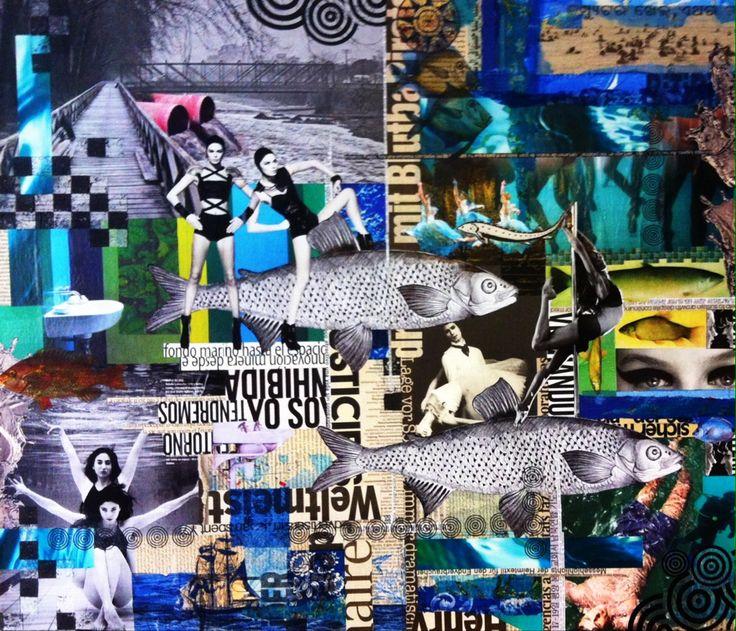 Collage Lorena Cordova - Agua