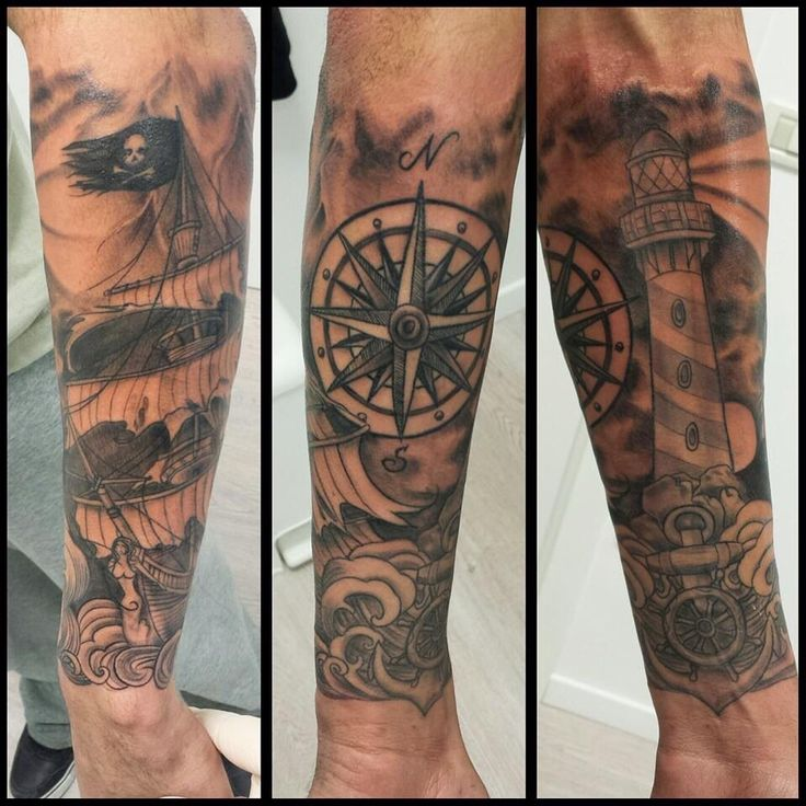 lighthouse pirate ship compass done by domino effect domino at pink panther aviano italy. Black Bedroom Furniture Sets. Home Design Ideas