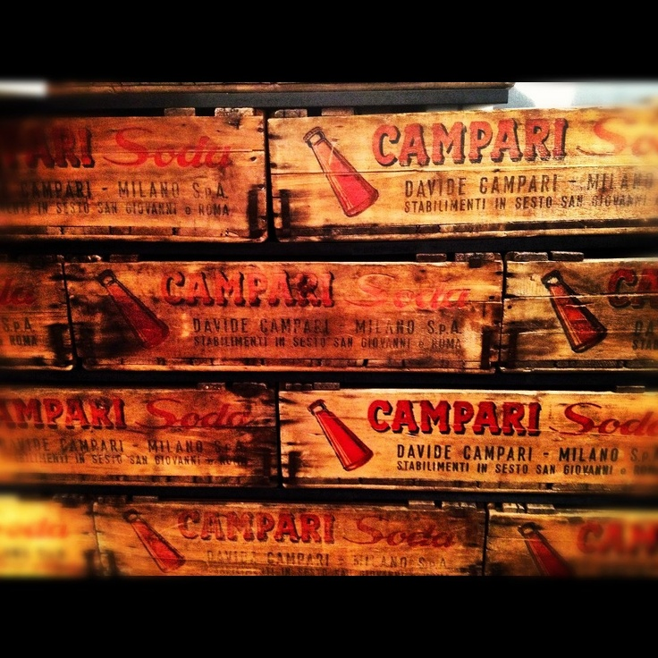 A snap from inside #Campari HQ, taken by Ollie Stuart.