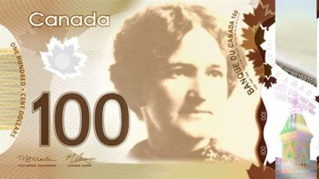 Nellie McClung first on the money for Canadians.(as for future Canadian bank notes,Quebec politician Therese Casgrain, aeronautical engineer Elsie MacGill, Anne of Green Gables author Lucy Maud Montgomery, artist Emily Carr and black activist and businesswoman Viola Desmond -. perhaps we'll see these worthy women on other banknotes eventually.