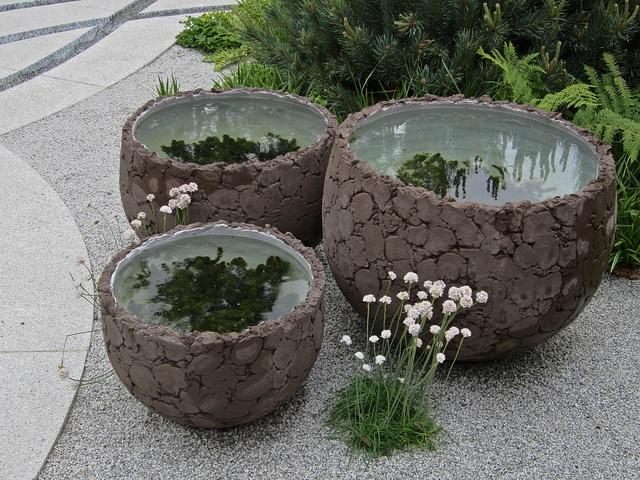 little water gardensWater Gardens, Aquariums Terrariums, Water Features, Fairies Gardens, Small Ponds, My Garden, Jardín Encantado
