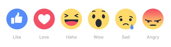 Have you heard about the new Facebook Reactions?