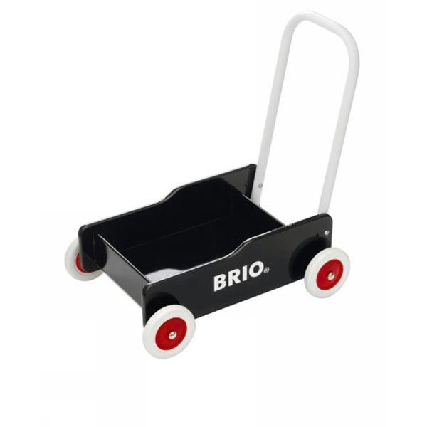 The Brio  Toddler Wobbler in Black