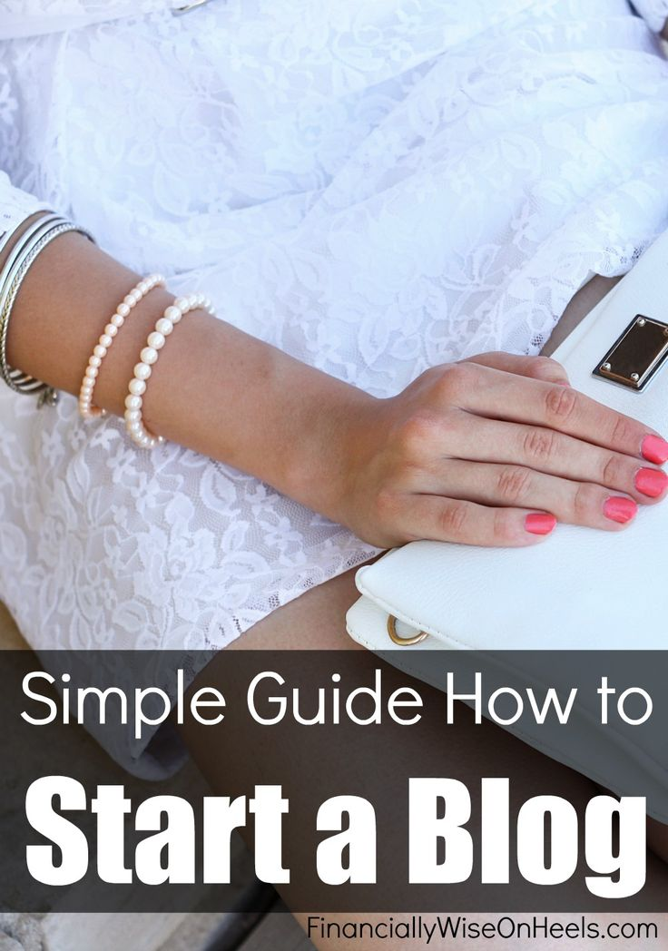Do you need a simple and step-by-step guide how to start a blog? This 3 Step Guide shows you exactly how to set up your blog fast and create a successful blog. Learn to make money blogging.  http://www.financiallywiseonheels.com/create-a-successful-blog/
