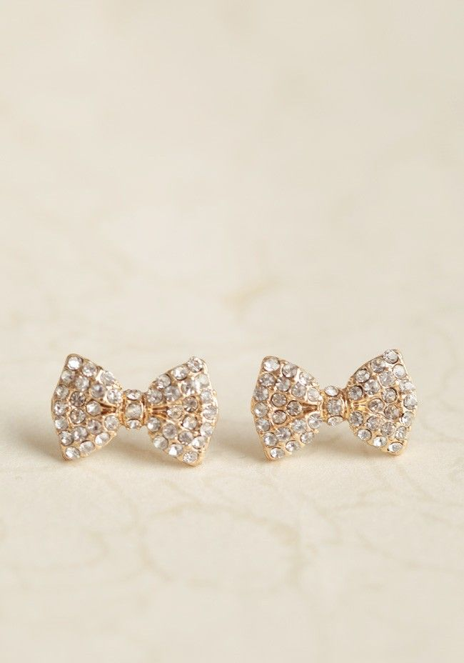 Dolled-up Bow Earrings | Modern Vintage Jewelry