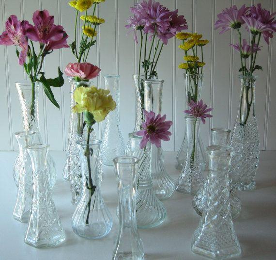 Wedding Tablesetting Wedding Decor Glass by TrellisWeddingware