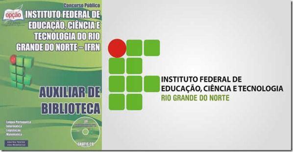 Promoção -  Apostila Auxiliar de Biblioteca IFRN 2015  #Aprovado