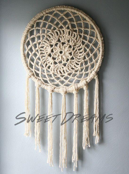Big Dreams Dreamcatcher by Erica // Caught On A Whim | Project | Crochet / Accessories | Decorative | Kollabora