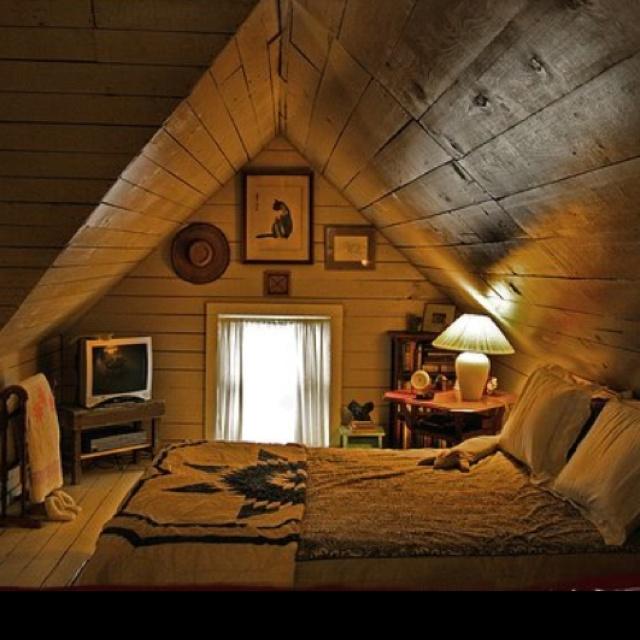 rustic attic room popomo ponderings pinterest