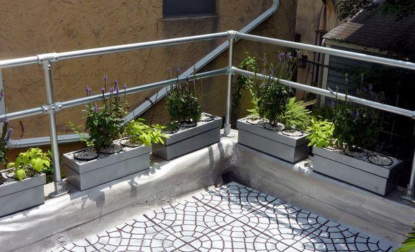 Modern Deck Railing Pipe Railing Pinterest Deck