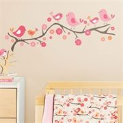 Brand New Wall Decals from Skip Hop - Springtime Birdie :-)