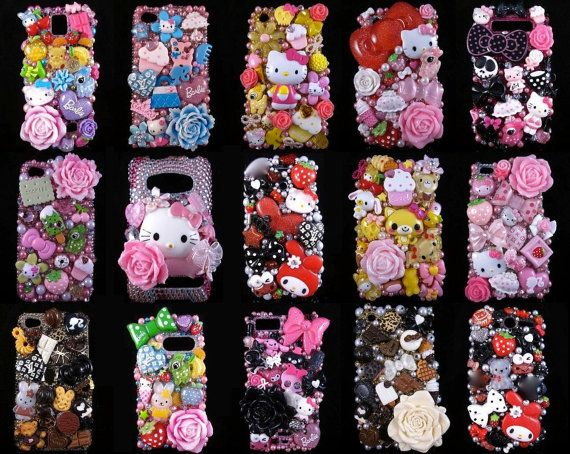 Customized Deco-Den Phone Case. $57.99, via Etsy.#decoden I want all of them