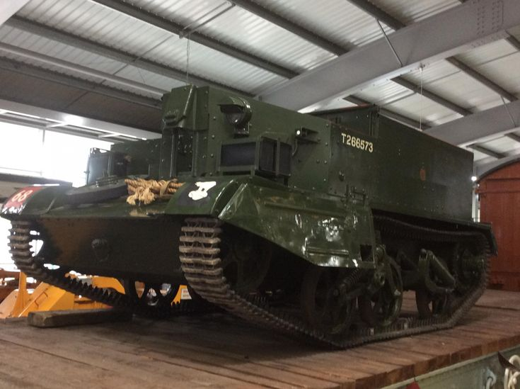 PERSONNEL CARRIER AT LOCOMOTION, Shildon