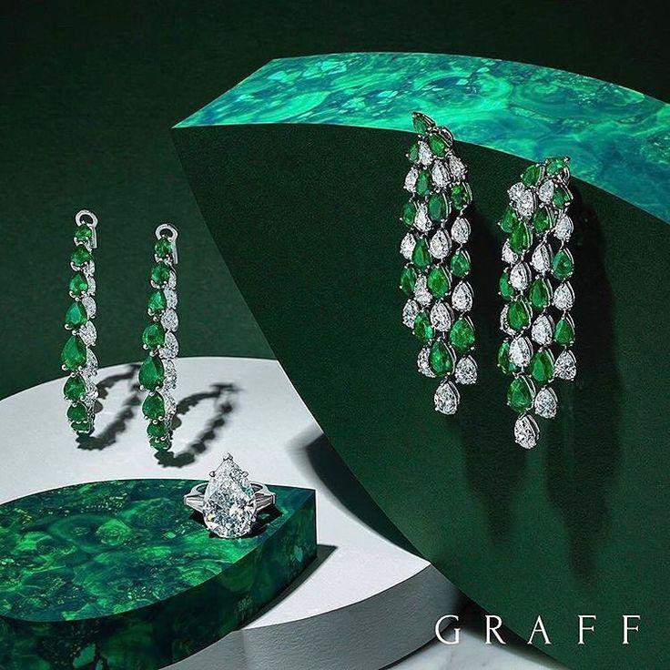 """Mi piace"": 551, commenti: 3 - Graff Boutique (@graffbaku) su Instagram: ""Ослепительные бриллианты и изумруды от Graff Diamonds#graffdiamonds #luxury #italdizain #fashion"""