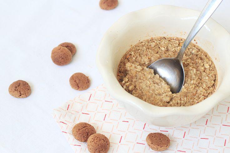 Baked oats met speculaaskruiden #oats #bakedoats #speculaas