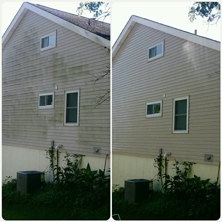 Roof Cleaning In St Louis Mo Roof Cleaning Garage Doors Cleaning
