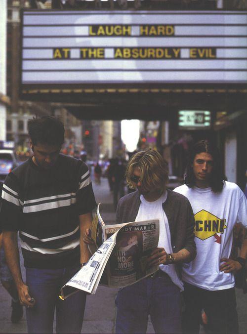 Nirvana-I'm diggin the sign