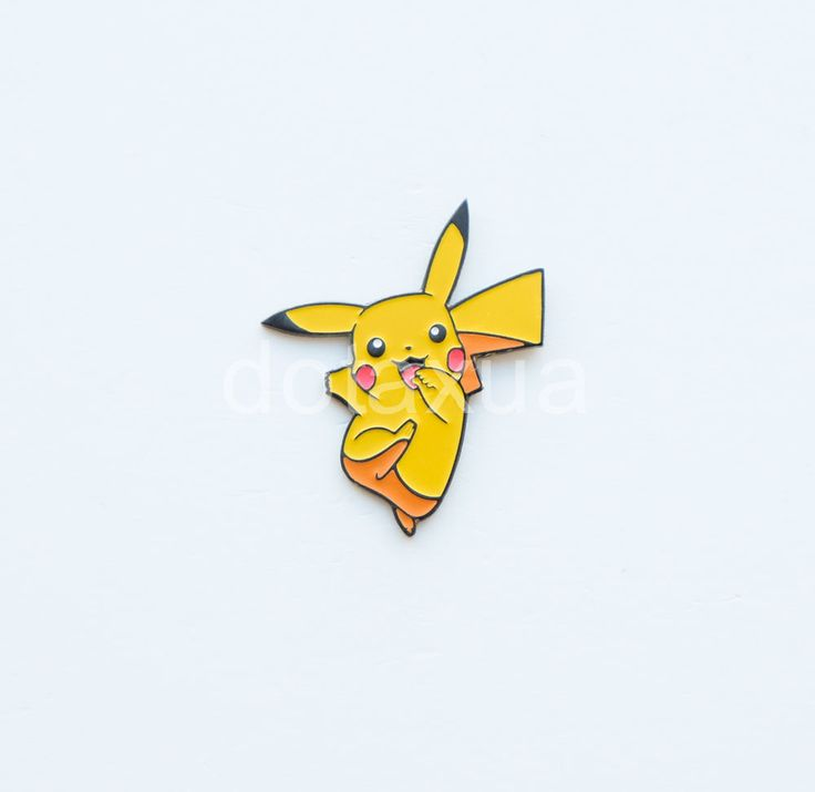 Metal Pin Pikachu Pokemon Badge Enamel pin #pin #pins #pikachu #pokemon