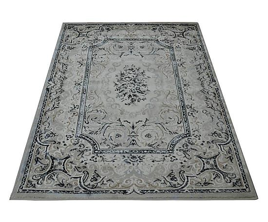 Tappeto heatset Aubusson grigio p.unico 120x170 cm