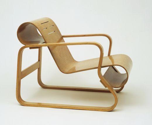 Chapter 27: Alvar Aalto - Paimio chair. scandinavian style