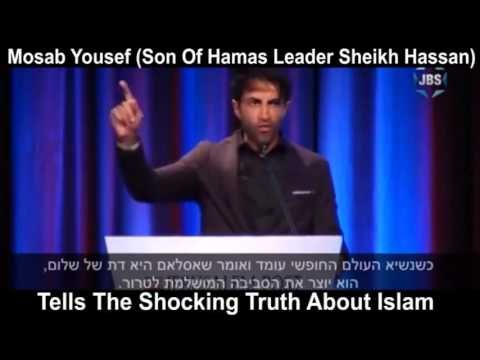 Mosab Hassan Yousef  tells the shocking truth about Islam!