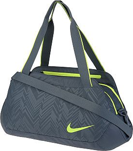 The functionality of a duffel and the good looks of a tote, this #Nike gym bag will be with you for years to come. SportsAuthority.com