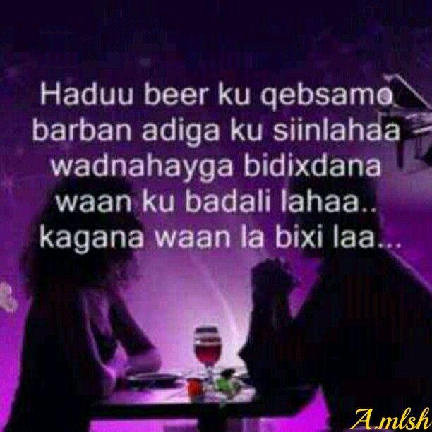 Somali Love Quotes. QuotesGram