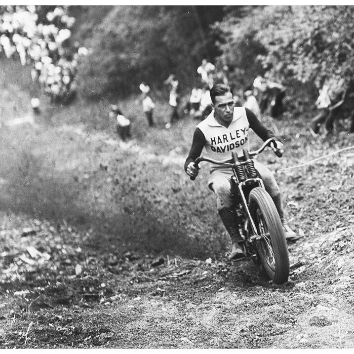 This one came direct from the mothership and damn if it ain't perfect. Smokin Joe Petrali on the 465 ft. ascent, Port Jervis Hill Climb, NY. 1936.  #ArchiveMoto #GeorgiaMotorcycleHistory #motorcycle #motoculture #motohistory #harleydavidson #1936 #hillclimb posted by @hdmuseum by archive_moto http://ift.tt/1OY87Dh