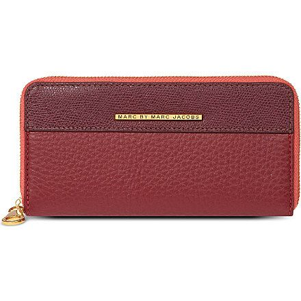 MARC BY MARC JACOBS - Sheltered Island leather wallet | Selfridges.com