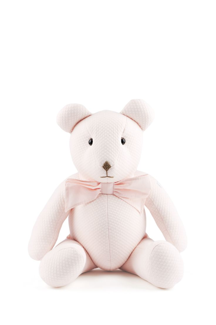 Teddy Bear 20 Years old Royal Pink collection Théophile & Patachou Belgian design Made in Europe
