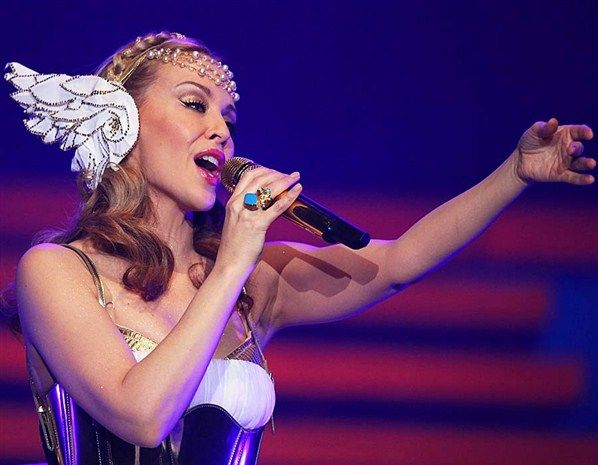 Kylie Minogue (© Getty Images/Don Arnold)