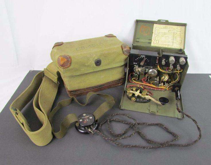 WW2 U.S. ARMY SIGNAL CORPS TG-5-B FIELD TELEGRAPH SET ...