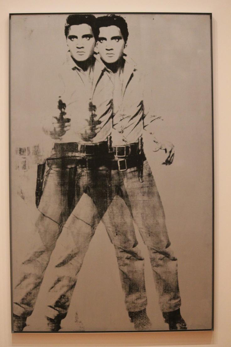 Warhol meets the king.