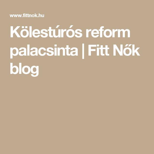 Kölestúrós reform palacsinta   Fitt Nők blog