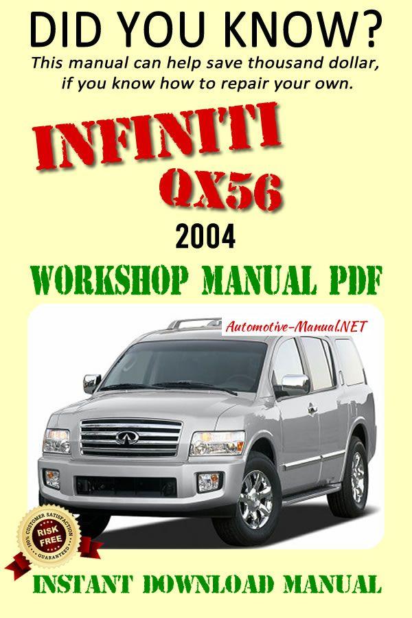 Download Infiniti Qx56 2004 Workshop Manual Pdf Infiniti Qx56 Infiniti Manual