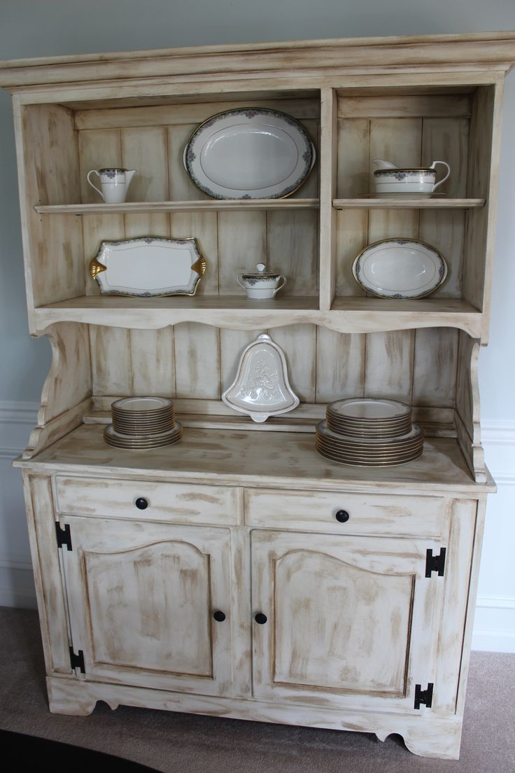 Dining Room hutch | Refinished Furniture | Pinterest
