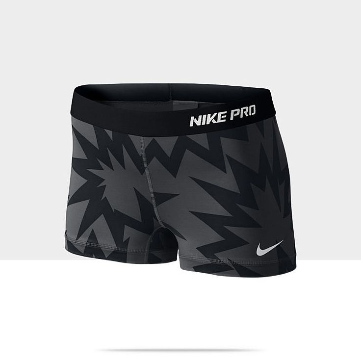 Not sure if these shorts will hold my booty properly but I like them though! Nike Pro Core Print Women's Shorts