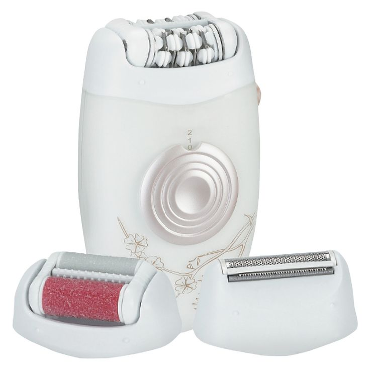 My Life My Shop 3-in-1 Hair, Foot File & Callous Remover- White